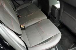 Ford Focus Black Edition, rear seats