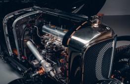 Bentley Blower Car Zero, 2020, engine