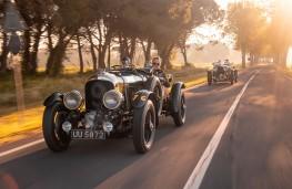 Bentley 'Blower', front, action