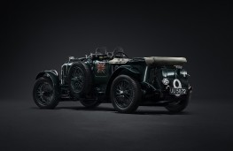 Bentley 'Blower', rear