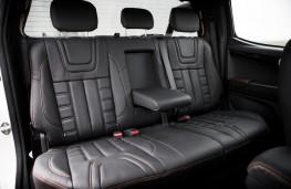 Isuzu D-Max Blade, 2017, rear seats