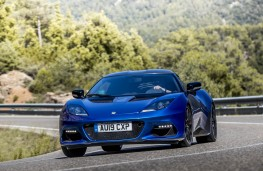 Lotus Evora GT 410 Sport, 2020, front, action