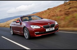 BMW 650i SE Convertible, front