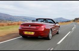 BMW 650i SE Convertible, rear