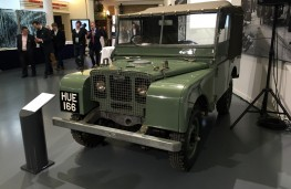 British Motor Museum, 1948 Land Rover Number One – HUE 166
