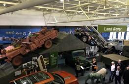 British Motor Museum, Land Rover exhibit