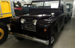 British Motor Museum, 1958 Land Rover 88 Royal Review
