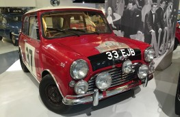 British Motor Museum, 1964 Mini Cooper S Monte Carlo winner