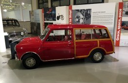 British Motor Museum, 1965 Mini Traveller once owned by Lord Mountbatten