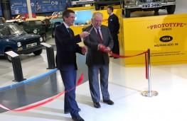 British Motor Museum, Gavin Williamson and Bob Dover opening museum