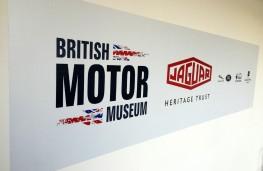 British Motor Museum, British Motor Museum sign