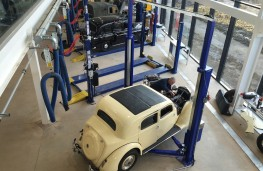 British Motor Museum, Collections Centre workshops