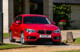 BMW 1 Series, front static