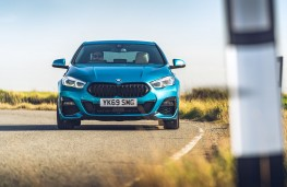 BMW 218i Gran Coupe head on