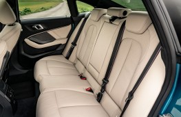 BMW 218i Gran Coupe rear seats