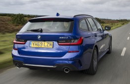 BMW 3 Series Touring 320d xDrive rear