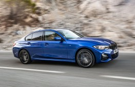BMW 320d xDrive,  front action 2