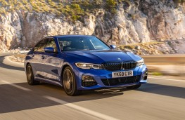 BMW 320d xDrive,  front action