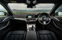 BMW 4 Series Coupe, dashboard