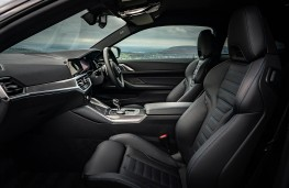 BMW 4 Series Coupe, front seats