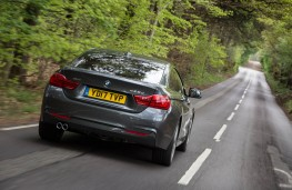 BMW 4 Series Gran Coupe, action rear