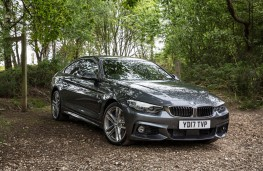 BMW 4 Series Gran Coupe, static side 3