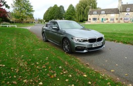 BMW 520d M Sport, front static 3