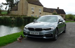 BMW 520d M Sport, front static