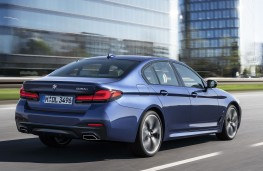 BMW 530e xDrive 2020 rear