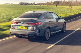 BMW M235i xDrive Gran Coupe rear action