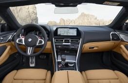 BMW M8 Competition Convertible cockpit