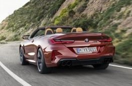 BMW M8 Competition Convertible rear action