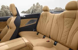 BMW M8 Competition Convertible rear seats