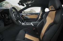 BMW M8 Competition Coupe front seats