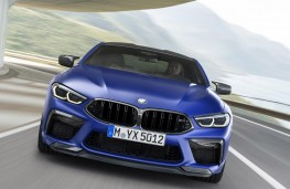 BMW M8 Competition Coupe head on action