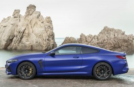 BMW M8 Competition Coupe side