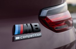 BMW M8 Competition Gran Coupe badge