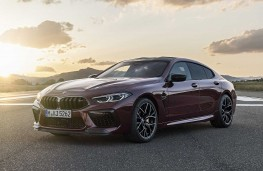 BMW M8 Competition Gran Coupe front threequarters
