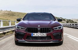 BMW M8 Competition Gran Coupe head on