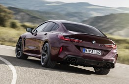 BMW M8 Competition Gran Coupe rear action