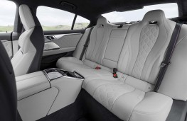 BMW M8 Competition Gran Coupe rear seats