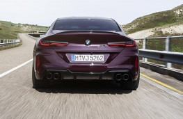 BMW M8 Competition Gran Coupe rear