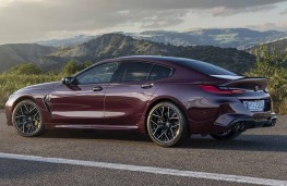 BMW M8 Competition Gran Coupe side