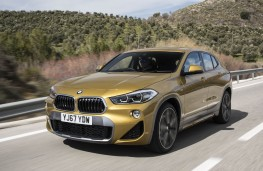BMW X2, front action