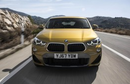 BMW X2, full front action