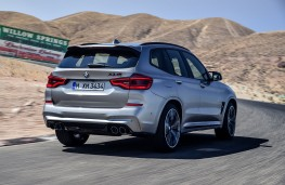 BMW X3-M Competition rear action