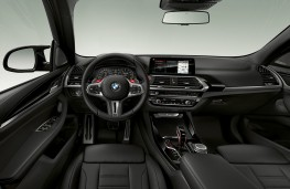 BMW X3-M Competition cockpit