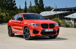 BMW X4-M Competition front threequarters static