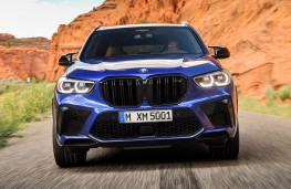 BMW X5 M Competition head on