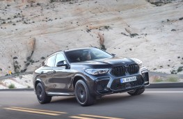 BMW X6 M Competition front action